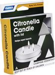 Camco 51023 CITRONELLA CANDLE W/LID