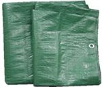 Tarps 97141G TARP GREEN POLY 12' X 25' 8MIL