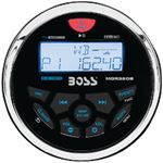 Boss Audio Systems MGR350B MARINE GAUGE STYLE RCVR-IPX6