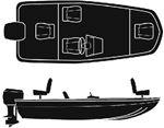 Attwood Marine 10195 POLY ALUMINUM BASS 16'-76