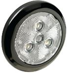 Attwood Marine 6323B7 2.75  RD BLACK BEZEL LED INT.