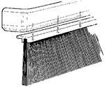 Industrial Brush Co 341016 DIRT SKIRT 16IN