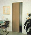 Irvine Shade & Door 3675FB PLEATED FOLDING DOOR BEIGE