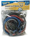 Boatbuckle F13741 STRETCH CORD VARIETY 10-PACK