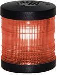 Aqua Signal 250047 LIGHT A/R PED RED LENS BLACK