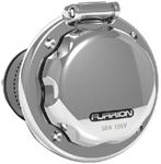 Furrion F50INS-SS 50A 125V INLET RD STAINLESS