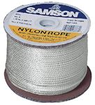 Samson 019 012 005 030 SOLID BRAID NYLON 3/16 X 500FT