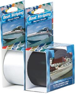Incom RE11WH WHITE BOAT STRIPING 1/2X50'