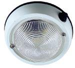 Perko 1253DP2WHT 5  EXTERIOR DOME LIGHT WHT