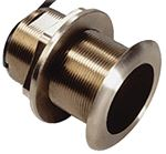 B60 TILTED ELEMENT BRONZE THRU-HULL TRANSDUCER (GARMIN)