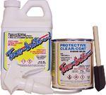 ALUMINUM CLEANER & PROTECTIVE CLEAR-COAT KIT (TOONBRITE)