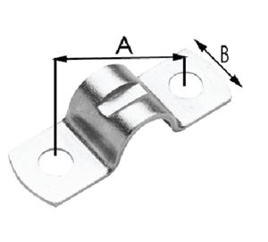 Seastar 31532 CABLE CLAMP TWO 7/32  DIA