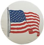 Adco Products 1785 U.S. FLAG TIRE COVER SIZE F