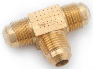 Anderson Metal 04044-06 3/8 FLARE TEE