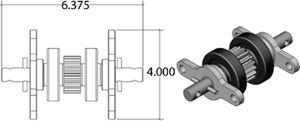 AP Products 014-122837 STANDARD GEAR PACK- NICKEL