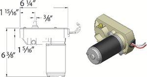 AP Products 014-132682 18;1 VENTURE ACTUATOR MOTOR