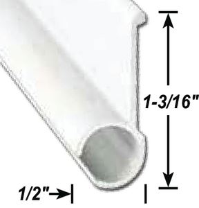 AP Products 021-50803-8 AWNING RAIL MILL 8' @5