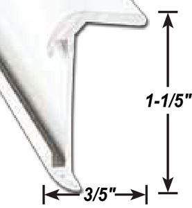 AP Products 021-85002-8 CORNER MOLDING BLK 8' @5