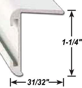 AP Products 021-85202-8 LL CORNER MOLD. BK 8' @5