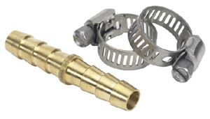 Moeller 033212-10 HOSE MENDER-BR 5/16IN W-CLAMPS