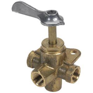 Moeller 033304-10 VALVE- 4-WAY BRASS 1/4IN FNPT