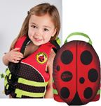 Kent 104300-100-001-14 PFD CHILD WATER BUDDIE LADYBUG
