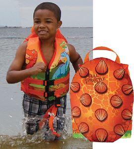 Kent 104300-200-001-15 PFD CHILD WATER BUDDIE DINOSUR