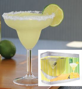 Camco 43902 MARGARITA GLASS 12 OZ 2/PK