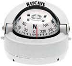 Ritchie Navigation S-53W EXPLORER COMPASS WHT/WHT DIAL