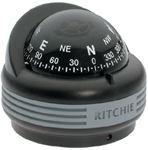 Ritchie Navigation TR33 TREK FLUSH BLK MT. COMPASS