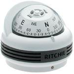 Ritchie Navigation TR33W TREK FLUSH WHT MT. COMPASS