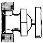 Bristol Products 64V3500 1/2X1/2 INLINE SHUT-OFF VALVE