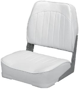 Wise Seating 10076-11-B-RD ECONOMY SEAT GRAY/CHARCOAL