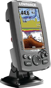 Lowrance 000-12647-002 HOOK4 M/H/DWNSCAN LAKE