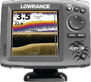Lowrance 000-12656-001 HOOK-5 MID/HIGH/DOWNSCAN