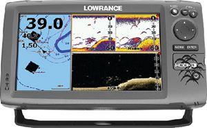 Lowrance 000-12667-001 HOOK-9 MID/HIGH/DOWNSCAN NAV+