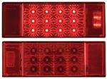 Optronics TLL-26RK MIRO-FLEX LED LOW PROF.SET2/PK