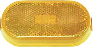Anderson Marine 108-15A OVAL AMBER REPLACEMENT LENS