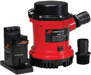 Johnson Pump 02204-00 2200 BILGE W/AUTO SWITCH 12V