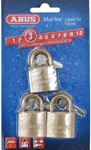 Abus Lock 56413 PADLOCK BRASS 1-1/4 KEY 3/CD