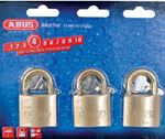 Abus Lock 56613 PADLOCK BRASS 1-1/2 KA 3/CD