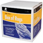 Buffalo Industries 10520 RAG-WIPING WHITE 4LB BOX