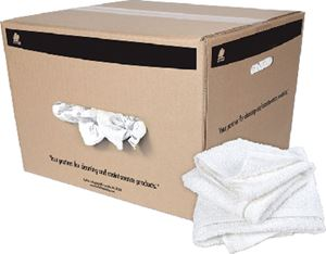 Buffalo Industries 10821 HEMMED HALF TOWEL 50LB BOX