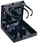 Attwood Marine 2445-7 DUAL RING DRINK HOLDER-BLACK