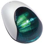 Attwood Marine 3834G7 SIDELIGHT GREEN VRT MNT WHITE