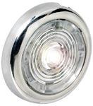 Attwood Marine 6341SS7 2.75IN ROUND LEDINTERIOR LIGHT