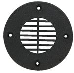 T-H Marine FD4DP FLOOR DRAIN FOR 4  HOLE