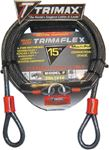 Trimax Locks TDL815 8'DUAL LOOP-MULTI USE CABLE