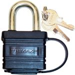 Trimax Locks TPW1125 WEATHER PROOFSTEELPADLOCK