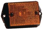 Wesbar 203131 SIDE MARKER AMBER/EAR MT